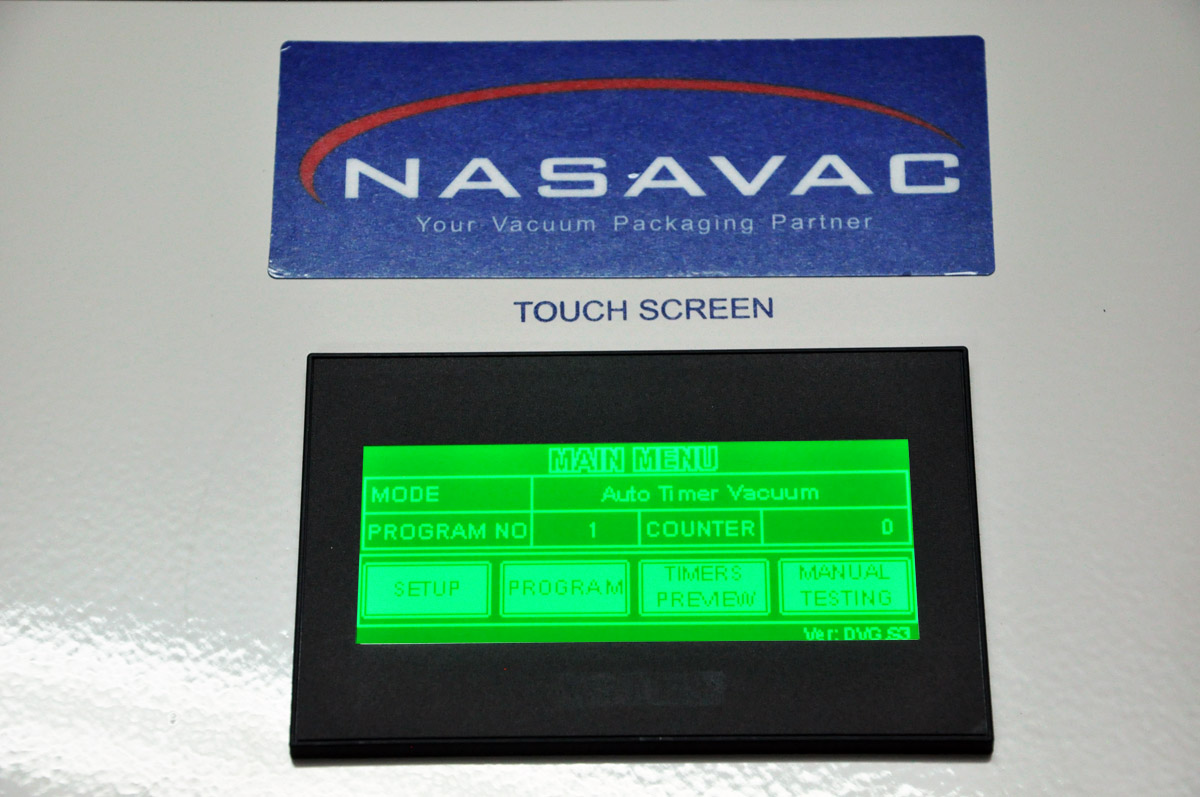Discover Series Touch Screen