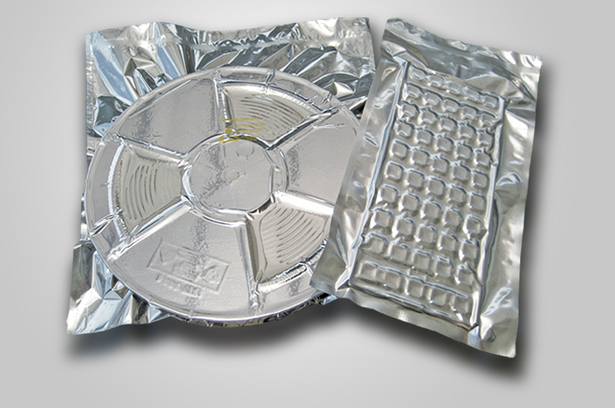 Tape Reel & IC Tray Vacuum Packed