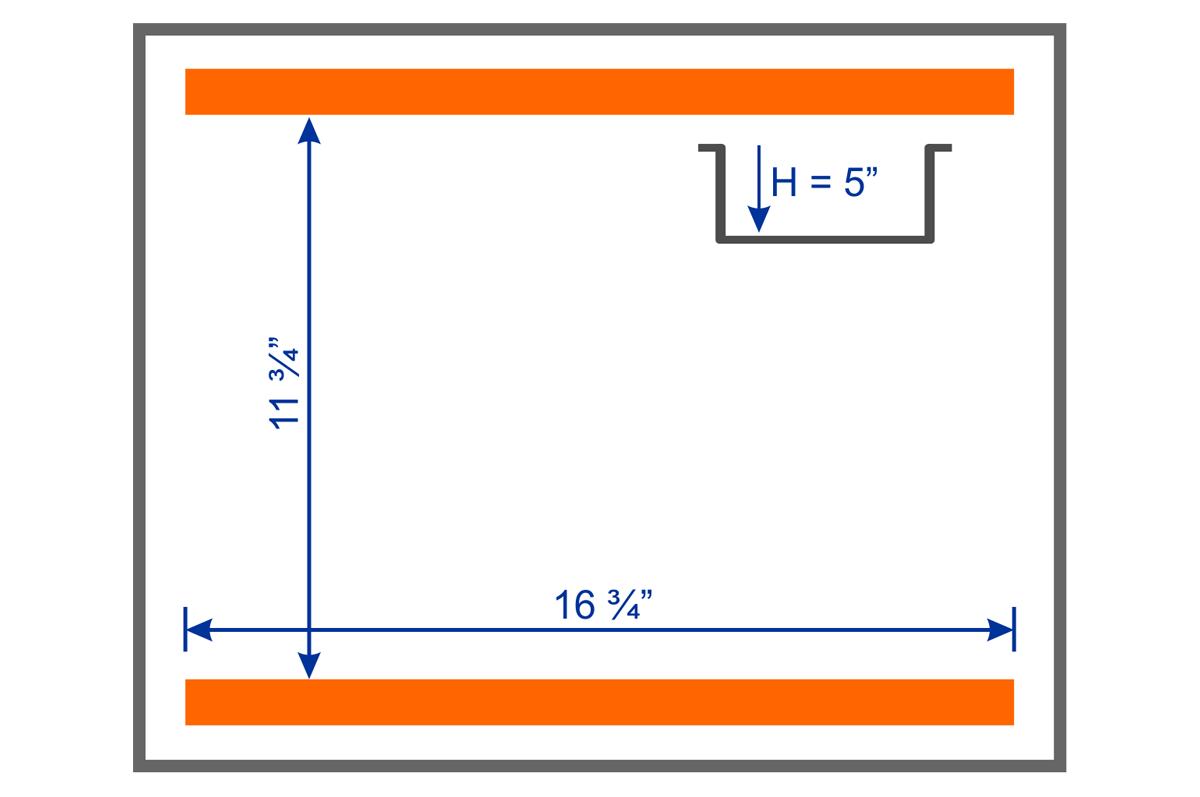 MERCURY 16B Chamber Dimension