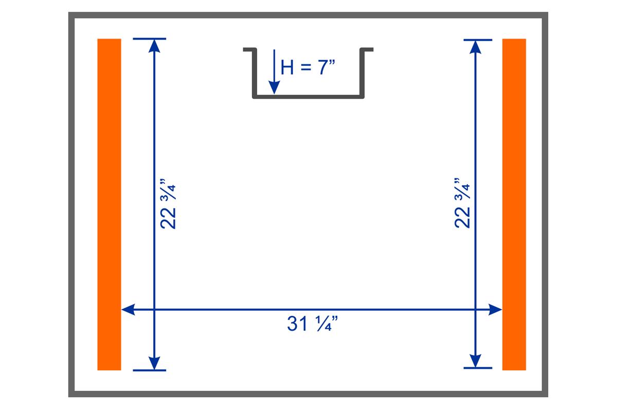 NEPTUNE 38S Chamber Dimension