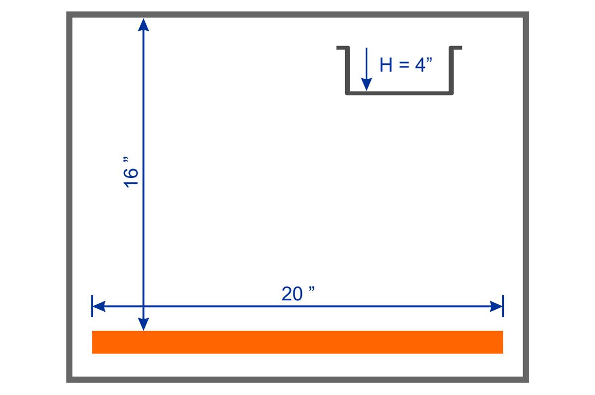VMT-20 Chamber Dimension